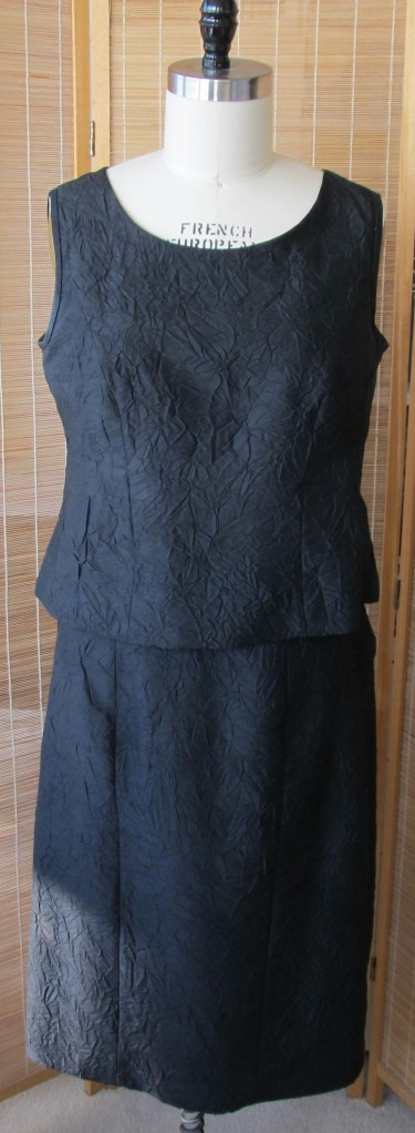 Black 2 pc dress