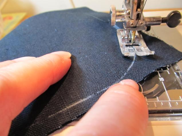 Sew Curved Corner